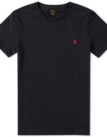 tshirt ralph μαυρο