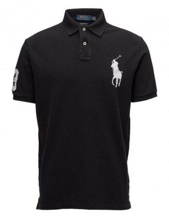 t-shirt ralph μαύρο