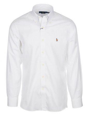 λευκο πουκαμισο ασπρο κλασσικο λογοτυπο ralph 1