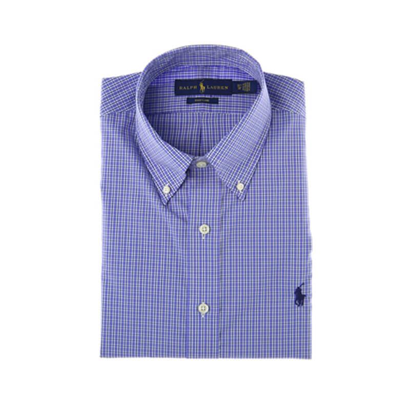 75e137ef23c Αντρικό Πουκάμισο Polo Ralph Lauren Check Shirt 712675625004 Μπλε