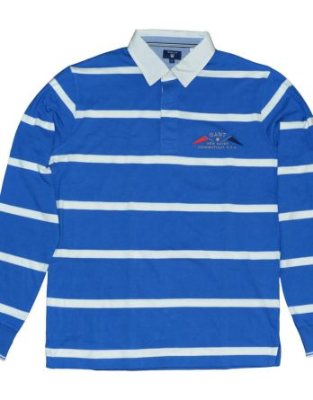 9bc63937be76 sale-20% stripe μπλουζα gant γαλαζιο 1 ...