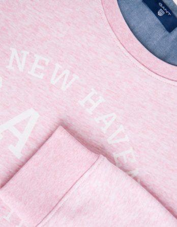 ... ροζ φουτερ gant afb1f905069