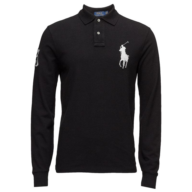 721a3b4511d8 Αντρική Μπλούζα Polo Ralph Lauren Big Pony 710671951002 Μαύρο