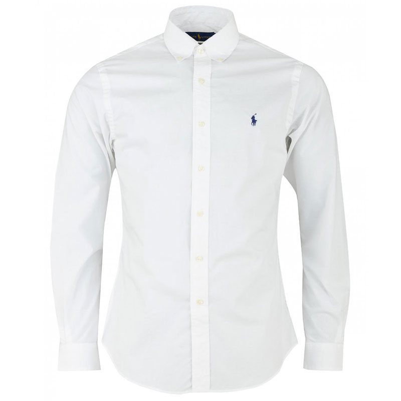 ... Αντρικό Πουκάμισο Polo Ralph Lauren Slim Classic Pony 710705269002 Ασπρο.  sale -10%. ασπρο πουκαμισο ralph lauren slim fit 15eff0a9248