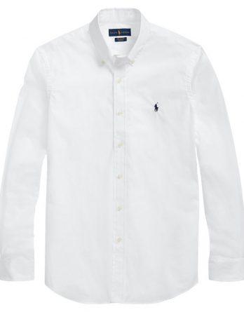 ασπρο πουκαμισο ralph lauren