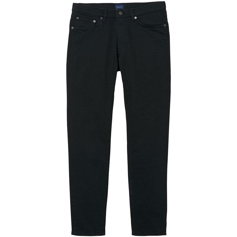 1b79310e93ab Αντρικό Τζιν Gant Slim Jeans 1315008 951 Μαύρο (L34)