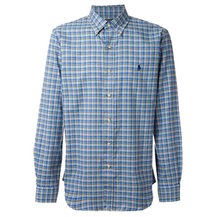 ... Αντρικό Πουκάμισο Polo Ralph Lauren Check Shirt 710567598010 Μπλε. sale  -30%. πουκαμισο καρο ralph 02325fd07b2