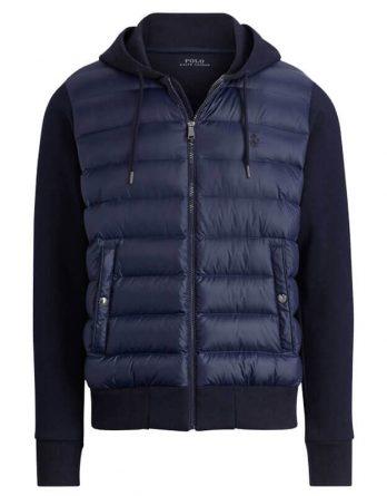 972fc3173415 Αντρικό Μπουφάν Polo Ralph Lauren Hybrid Jacket 710671059003 Σκούρο Μπλε