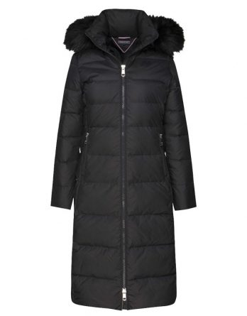 d50e9c32f5ef sale-30% μακρυ μαυρο μπουφαν tommy γυναικειο ...