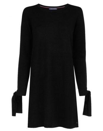 ea29c4a66e2f Γυναικείο Φόρεμα Tommy Hilfiger Tarisa WW0WW23620 094 Μαύρο