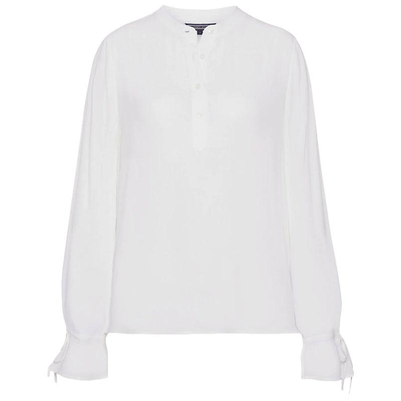 4120d33d0f46 Γυναικεία Μπλούζα Tommy Hilfiger Riva WW0WW24735 118 Άσπρο