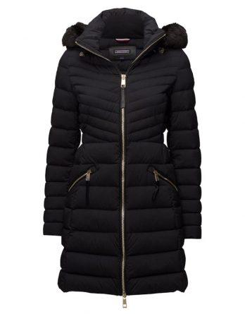 Γυναικείο Μπουφάν Tommy Hilfiger New Nikki Coat WW0WW19175 094 Μαύρο beef91b8021