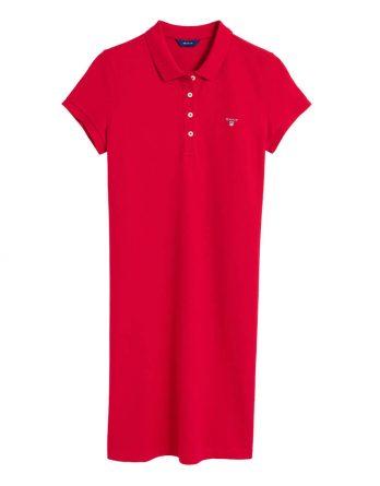 dd2900af0771 Γυναικείο Φόρεμα GANT 402300 610 Κόκκινο