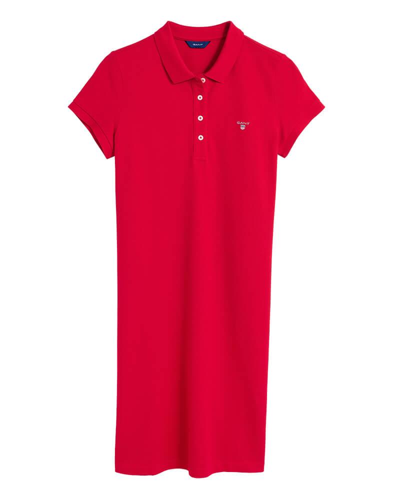 0a152e495a5e Γυναικείο Φόρεμα GANT 402300 610 Κόκκινο