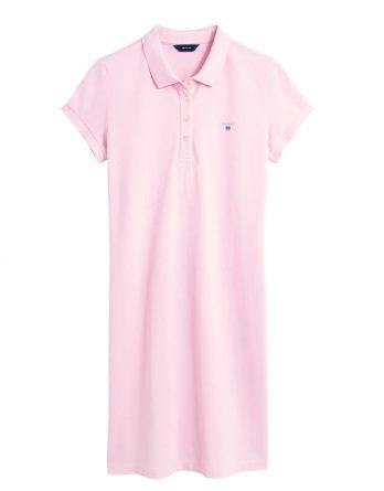 b60636cf214c γυναικείο φόρεμα polo gant ροζ