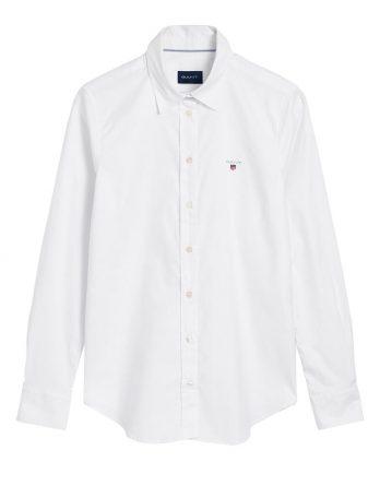 3723754ea09f γυναικείο πουκάμισο gant άσπρο μακρύ μανίκι