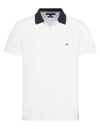 57599eec394b Ανδρική Μπλούζα TOMMY HILFIGER 1985 Regular Polo MW0MW09735 100 Άσπρο
