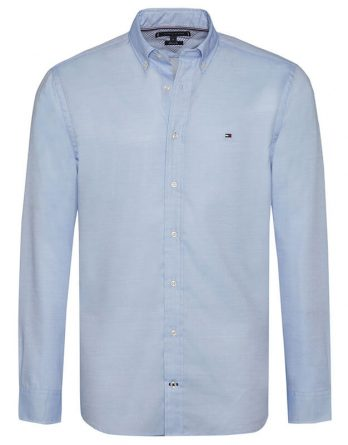 7f32754aa8ce ανδρικό πουκάμισο tommy hilfiger γαλάζιο print