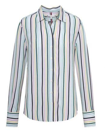 a1efad36b415 γυναικείο πουκάμισο tommy hilfiger χρωματιστό