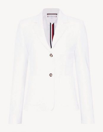 aced6788db57 γυναικείο σακάκι tommy hilfiger άσπρο