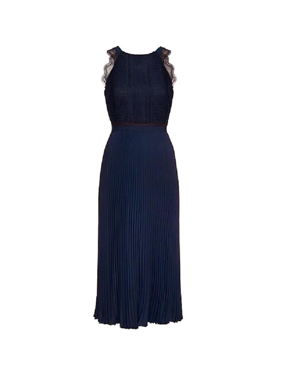 cda8eb309ea1 Γυναικείο Φόρεμα TOMMY HILFIGER Oc Haden Midi WW0WW24688 403 Σκούρο Μπλέ