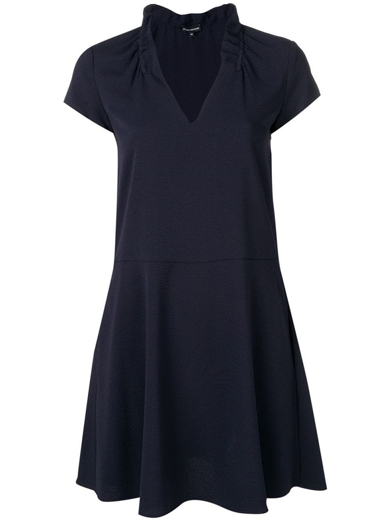 aced3612e0b4 ... Φορέματα   Γυναικείο Φόρεμα EMPORIO ARMANI 3G2A642NWQZ 0922 Σκούρο Μπλέ.  prev