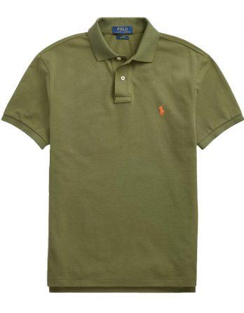 505c152023b0 Ανδρική Μπλούζα Polo Ralph Lauren Short Sleeve 710680784090 Λαδί