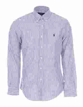 ανδρικό πουκάμισο ralph lauren slim ρίγα