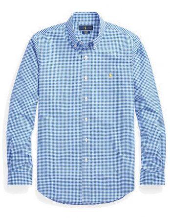 71668a8c164f Ανδρικό Πουκάμισο Polo Ralph Lauren Sport Check Shirt 710744243003 Μπλέ