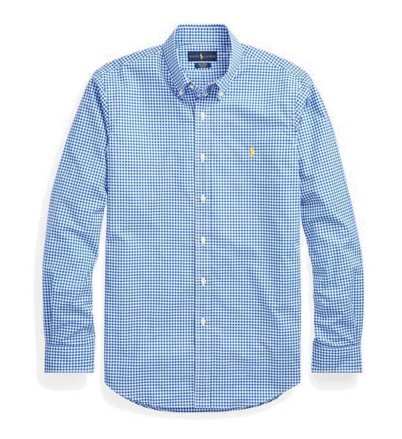 8fa2f473d736 Ανδρικό Πουκάμισο Polo Ralph Lauren Sport Check Shirt 710744243003 Μπλέ