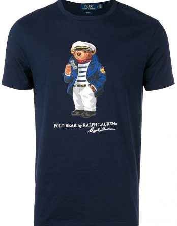 c99a71c3d8b0 Ανδρικό T-Shirt Polo Ralph Lauren Polo Bear Short Sleeve 710752708001 Σκούρο  Μπλέ