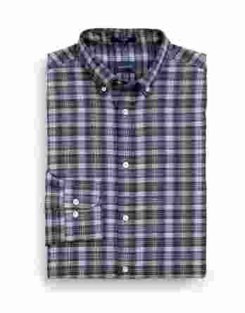 ανδρικό πουκάμισο gant καρό μπεζ μπλε