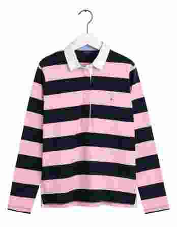 γυναικείο rugger gant ροζ σκούρο μπλε