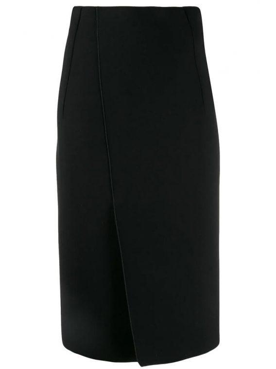 φούστα armani μαύρο