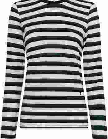 γυναικεία μπλούζα tommy σκούρο μπλε πράσινο άσπρο