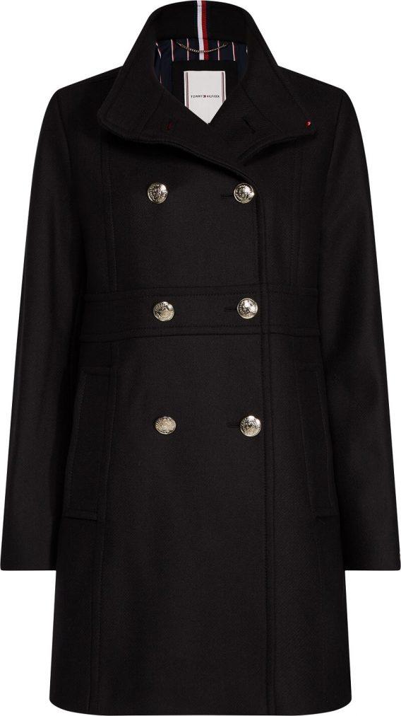 γυναικείο παλτό tommy μαύρο