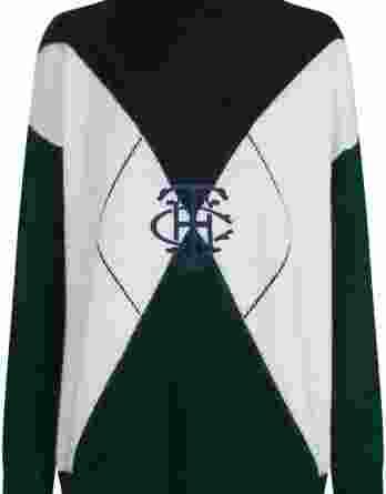 γυναικείο πουλόβερ σκούρο πράσινο