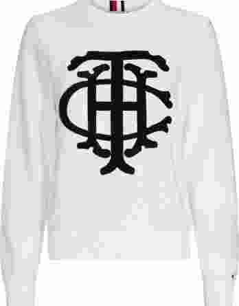 γυναικείο πουλόβερ tommy άσπρο