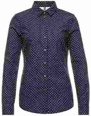 γυναικείο πουκάμισο tommy πουά μπλε σκούρο