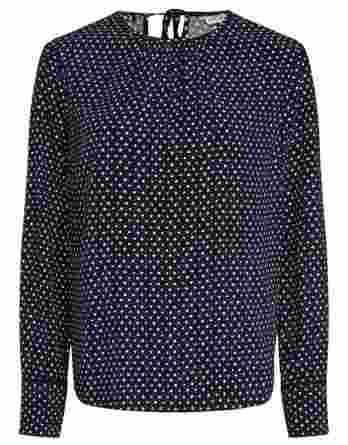 γυναικεία μπλούζα tommy αστέρια σκούρο μπλε