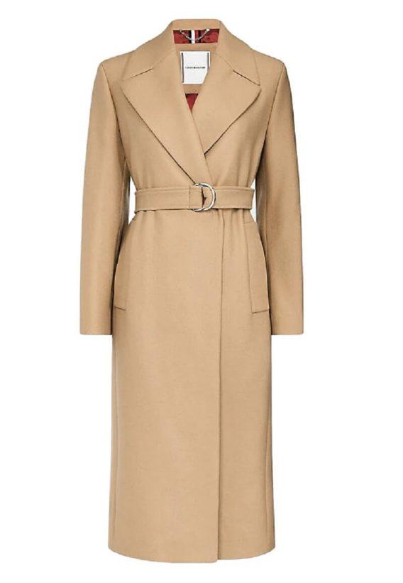 γυναικείο παλτό tommy μπεζ