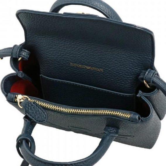 γυναικεία τσάντα μικρή armani σκούρο μπλε
