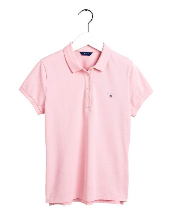 γυναικείο polo gant ροζ