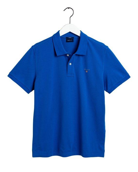 ανδρική polo gant μπλε