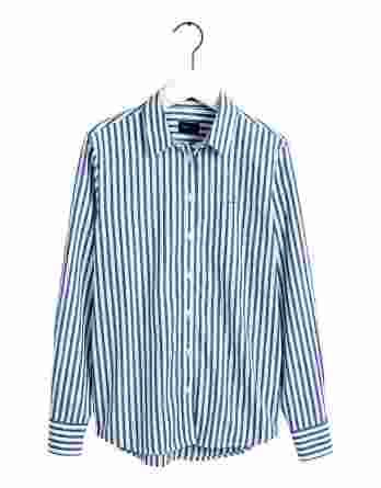 γυναικείο πουκάμισο gant μπλε