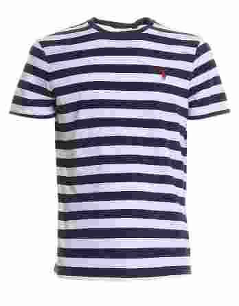 ανδρικό t-shirt ralph μαρινιερα