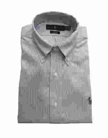 ανδρικό πουκάμισο ralph ρίγα άσπρο μοβ