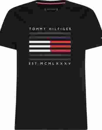 ανδρικό t-shirt tommy σκούρο μπλε