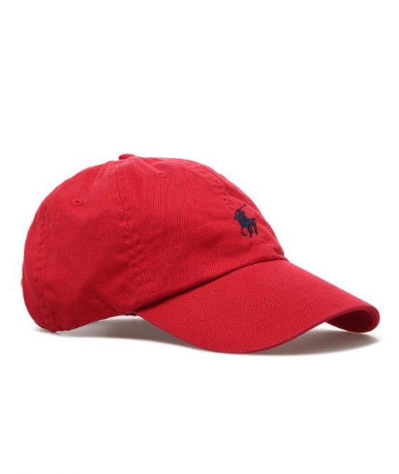 ανδρικό καπέλο ralph lauren κόκκινο