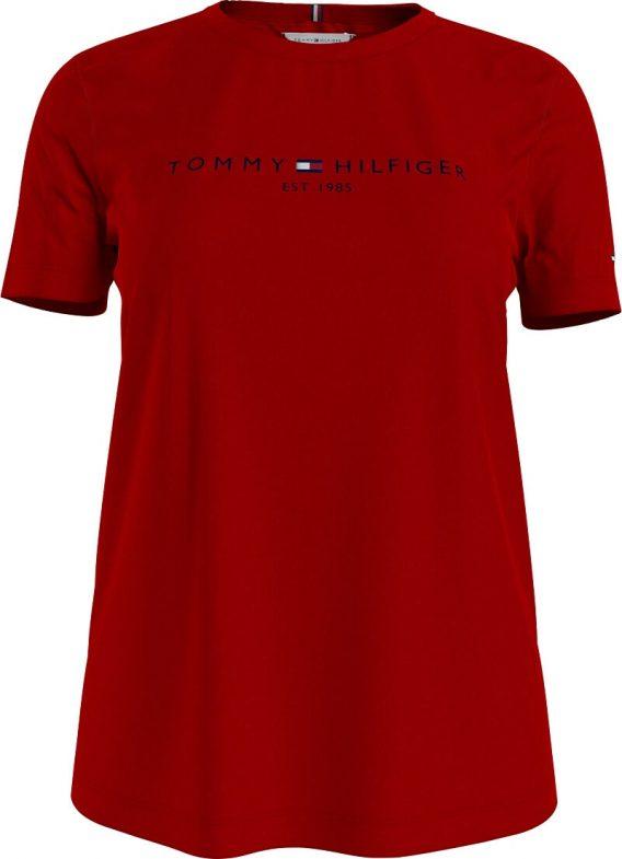 γυναικεία μπλούζα tommy στάμπα κόκκινο
